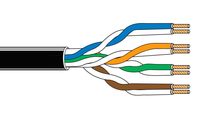Распиновка патч-корда