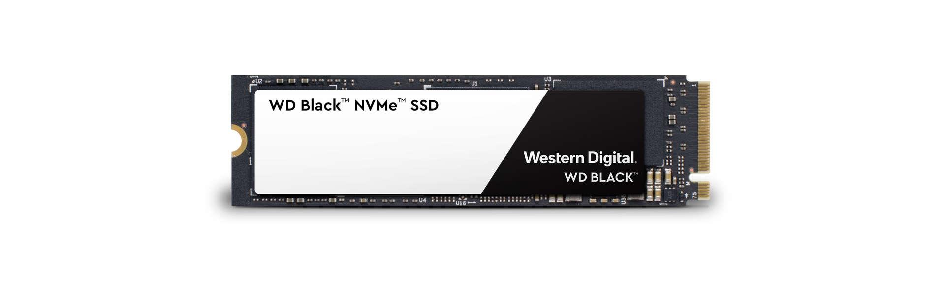 Western Digital представила Black 3D NVMe